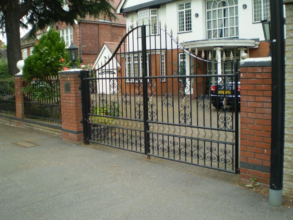 Wrought Iron Estate Amp Driveway Gates Titan Forge Ltd