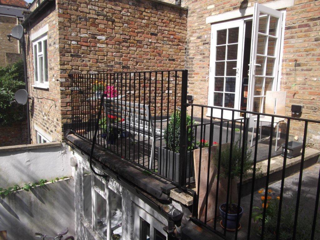 roof terrace railings