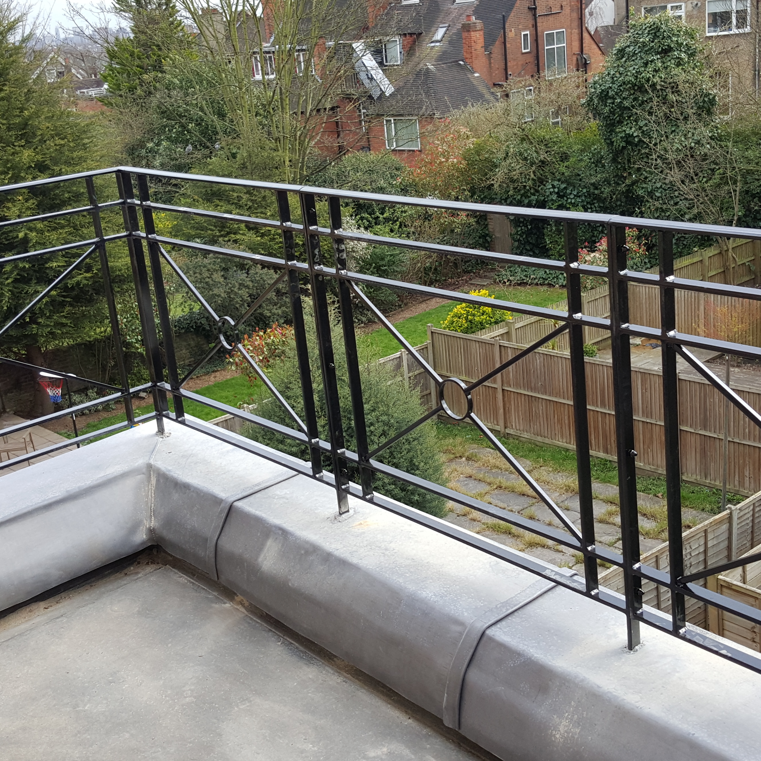 Roof Terrace Railings Titan Forge Ltd